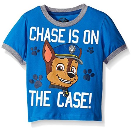 46bb9ef5 Nickelodeon - Paw Patrol Toddler Boys' Group T-Shirt Blue Chase 2T -  Walmart.com