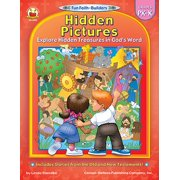 Hidden Pictures, Grades PK - K : Explore Hidden Treasures in God's Word