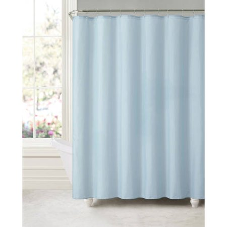 Victoria Classics Suction Cup Shower Curtain Liner