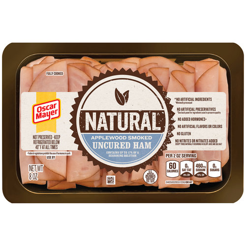 Oscar Mayer Selects Applewood Smoked Ham, 8 oz