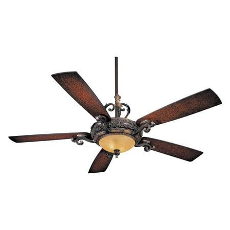 Minka Aire F705-STW Napoli 56 in. Indoor Ceiling Fan - Sterling (Minka Iron Ceiling Fan)