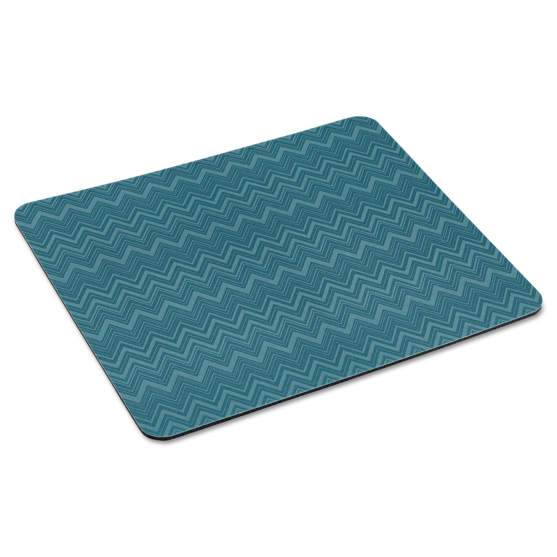 "3M Mouse Pad with Precise Mousing Surface, 9"" x 8"" x 1/5"", Chevron Design"