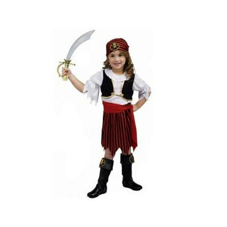 Toddler Pirate Girl Costume (Toddler Girl Pirate Costume)
