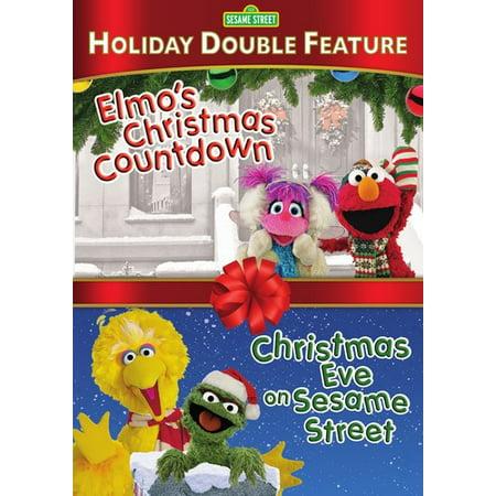 Elmos Christmas Countdown.Sesame Street Christmas Eve On Sesame Street Elmo S Christmascountdown Dvd