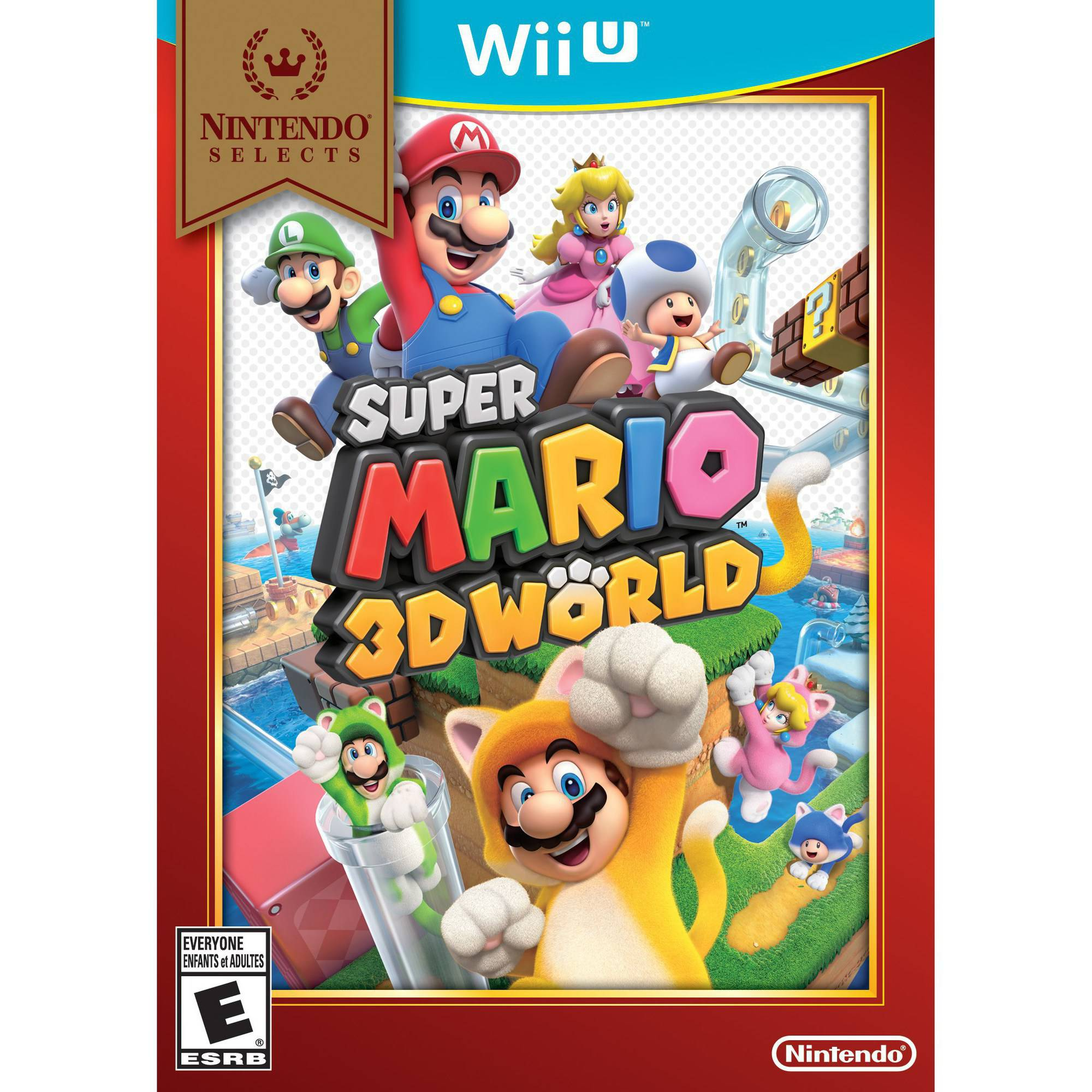 Super Mario 3D World - Nintendo Selects (Wii U)