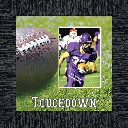 Personalized Football Frame, Football Gifts 10X10 9716 (Tide Personalized Football)