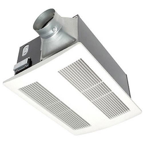 Panasonic WhisperWarm fan-heat, 110 CFM, 0.6 sone  APPA11VH2