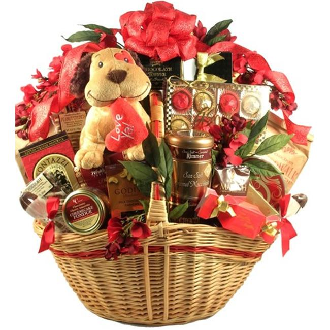 Gift Basket Drop Shipping LuYa-DLX Luv Ya, Deluxe Gift Basket Deluxe