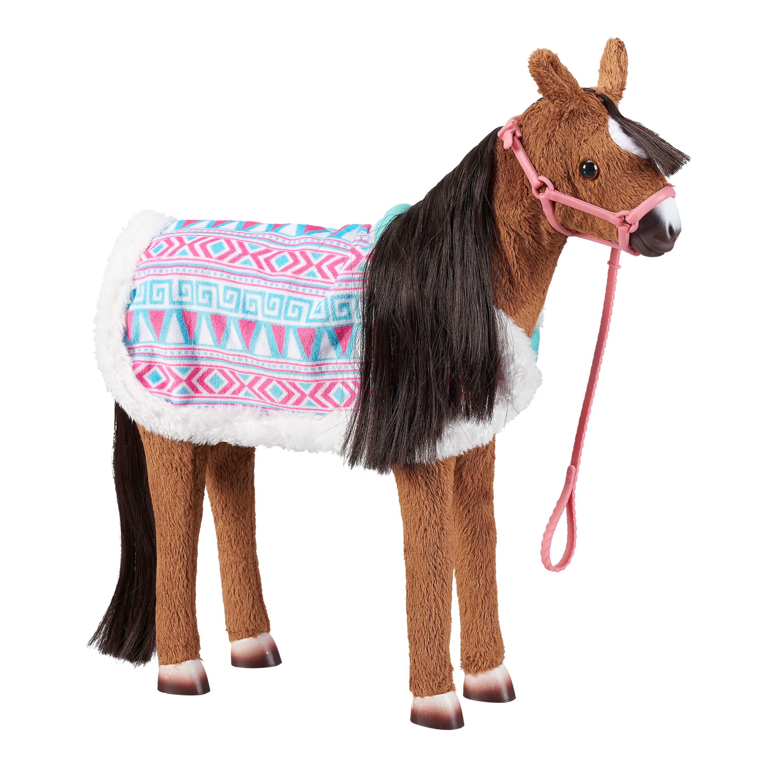 """My Life As 11.5"""" Interactive Animated Horse Doll, Brown with Black Mane"""