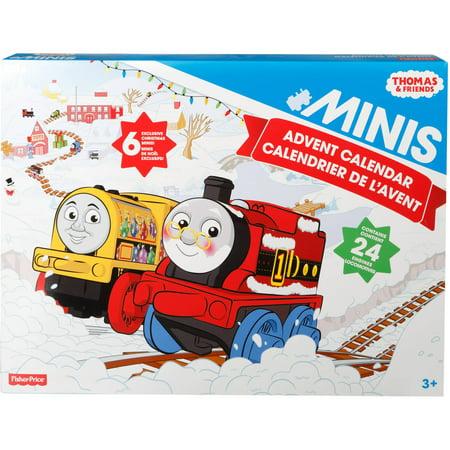 thomas friends minis advent calendar