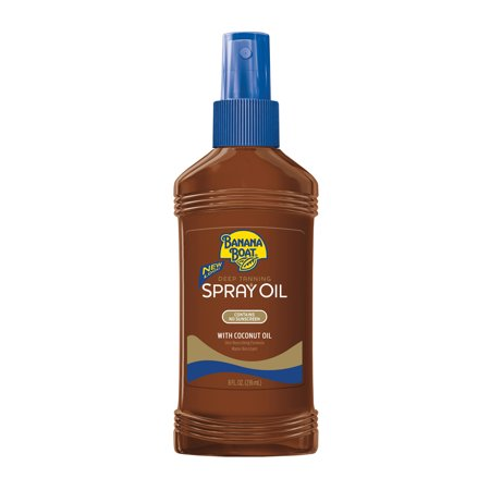 Banana Boat Deep Tanning Oil Pump Spray SPF 0, 8 (Best Outdoor Tanning Spray)