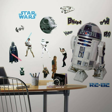RoomMates Star Wars Classic Set - Civil War Wallpaper