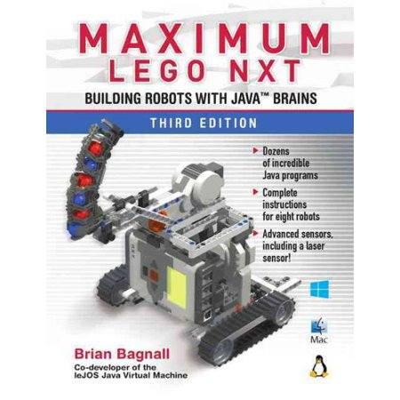 Maximum Lego Nxt Building Robots With Java Brains Walmart