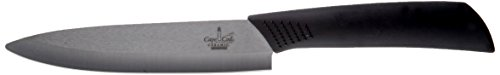Cape Cod 8111 Collection 5-Inch Black Ceramic Utility Knife by Great American Tools