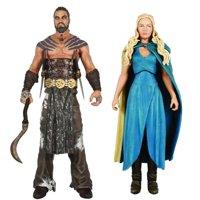 "Game of Thrones Funko 6"" Legacy Action Figure Bundle: Daenerys & Drogo"