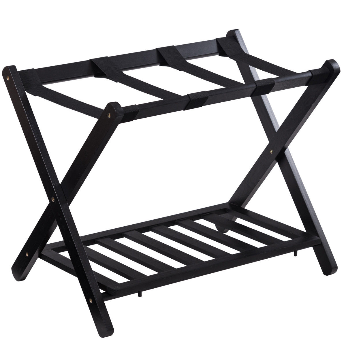 A chrome luggage rack from Lancaster Table & Seating is the perfect place for guests to store their luggage and travel bags. Lancaster Table & Seating's chrome luggage rack can hold several different suitcases or pieces of luggage at your hotel, resort, or convention center.5/5(8).