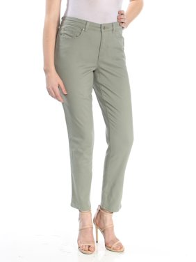 01f8f402e945e Product Image CHARTER CLUB Womens Green Ankle Skinny Jeans Size: 8