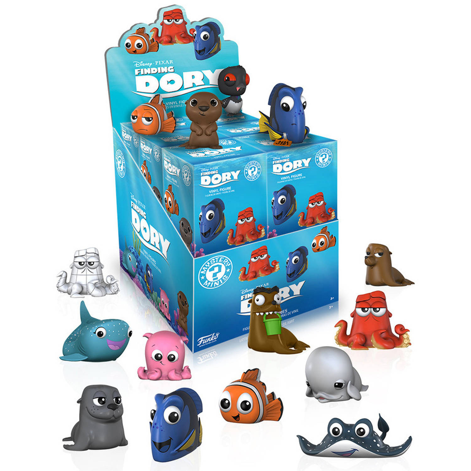 Funko Mystery Mini Blind Box, Finding Dory, One Mystery Figure