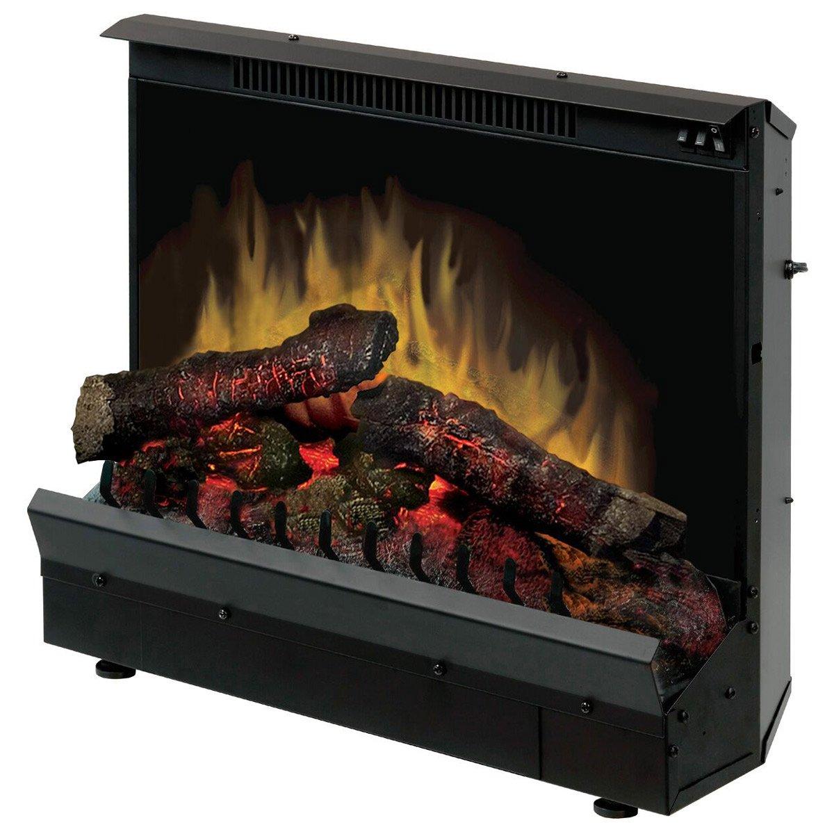 Dimplex DFI2310 Efficient Deluxe Heat 23 Inch Log Set Electric Fireplace Insert