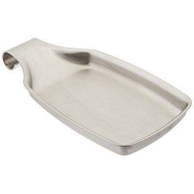 Amco Stainless Steel Spatula Spoon Rest by