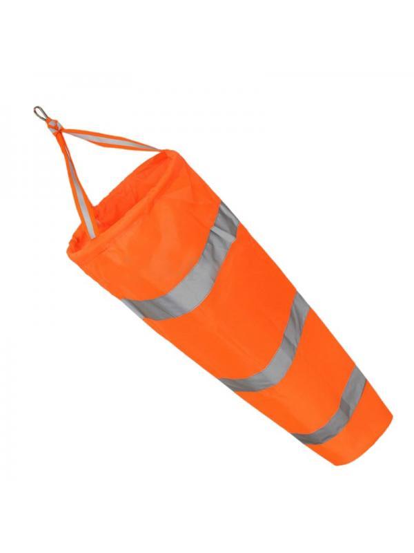 80//100//150//200cm Windsock Airport Aviation Wind Bag Outdoor Camping Flag Orange
