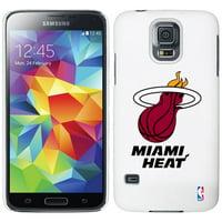 Miami Heat Galaxy S5 Primary Logo Thinshield Case - White - No Size