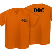 Prisoner Costume Shirt Convict Uniform Shirt for Orange is the New Black Fans