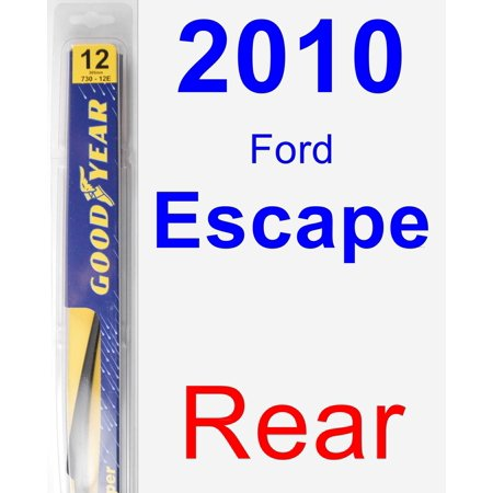 how to change 2010 ford escape wiper blades