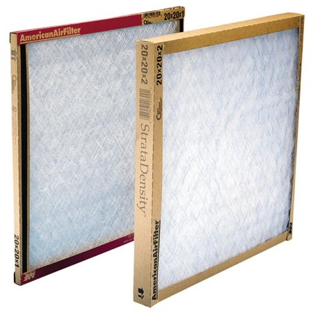 AAF 120202-1 Disposable Panel Filter, 20 in L, 20 in W, 825 cfm 12 Pack (Delta Air Filter)