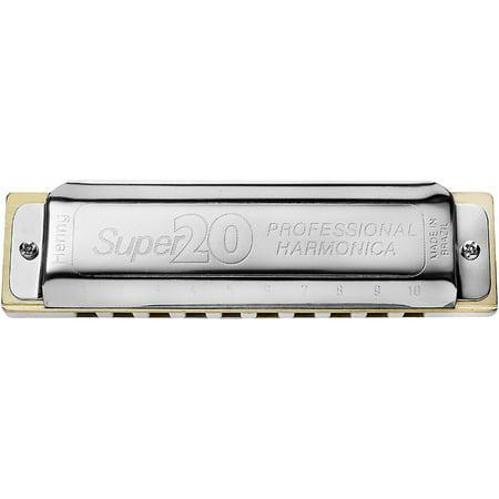 Hering Harmonicas 8020 Super 20 Diatonic Harmonica - Plastic Harmonicas