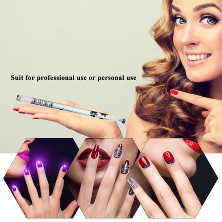Magnet Magic Pen For Cat Eye Double-head Pen For Gel Polish UV LED Nail Art Tools Manicure Print Tool -