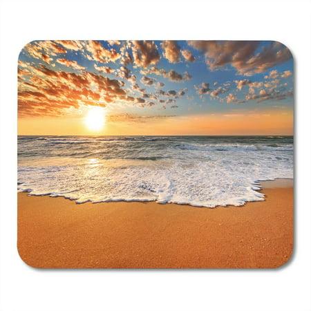 Sunset Cayman Islands - LADDKE Sunset Colorful Ocean Beach Sunrise Florida Cayman Hawaii Bahamas Mousepad Mouse Pad Mouse Mat 9x10 inch