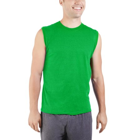 a5b746c14 Fruit of the Loom - Big Men's Dual Defense UPF Muscle Shirt, Available up  to sizes 4X - Walmart.com
