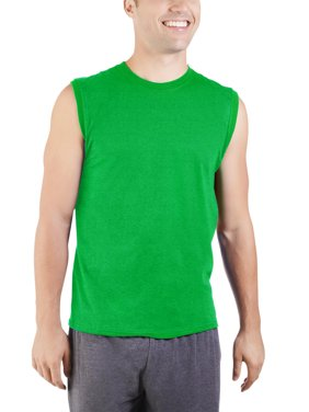 622cfa10 Product Image Big Men's Dual Defense UPF Muscle Shirt, Available up to  sizes 4X