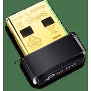 TP-Link TL-WN725N | 150Mbps Wireless N Nano USB Adapter | Speedy Wireless Transmission