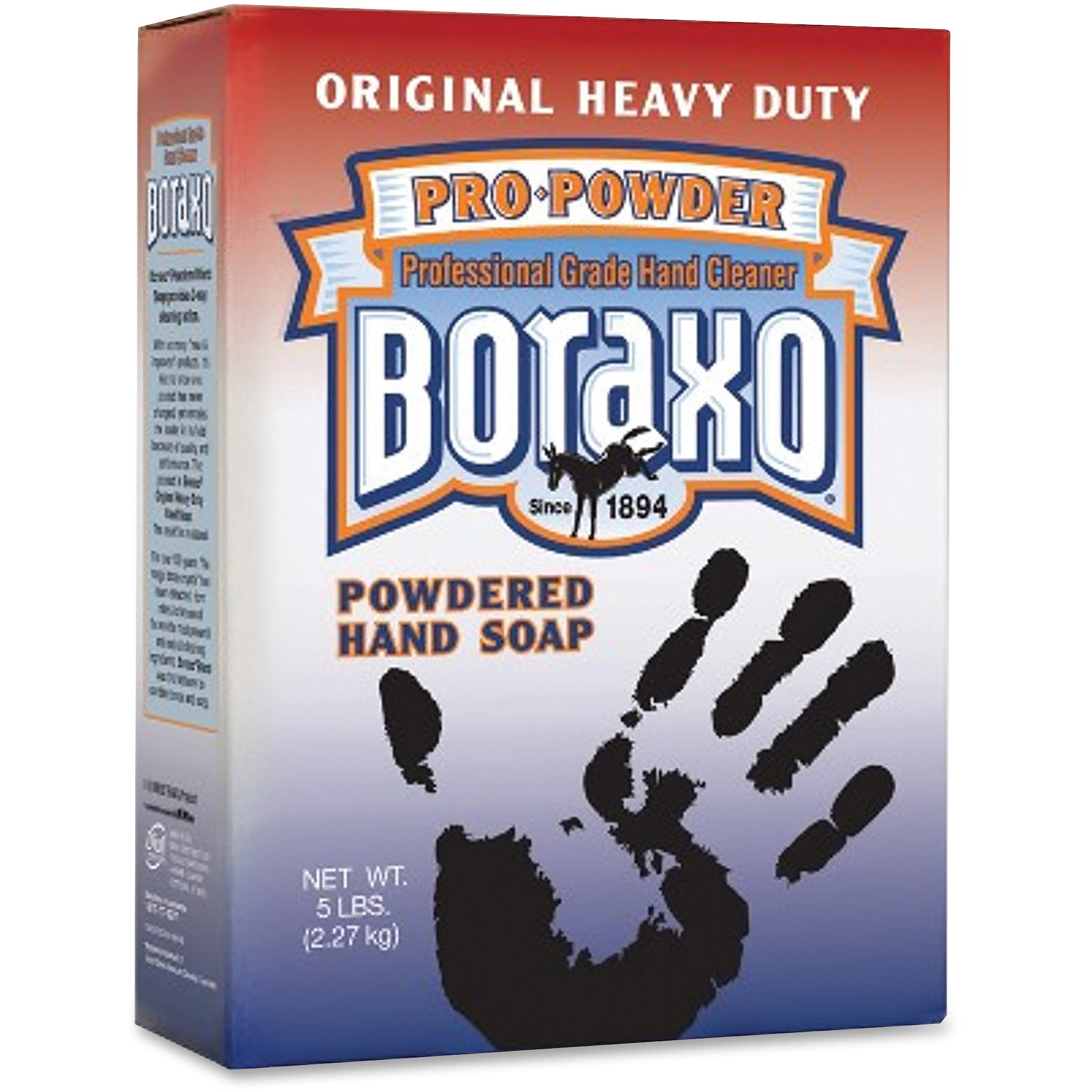 Boraxo Pro-Powder Professional Grade Powdered Hand Soap, 5 lbs