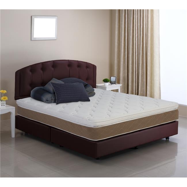 Wolf Mattress SSP-10 Sapphire Pillow Top Mattress, Twin Size