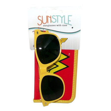 Spoontiques Wonder Woman Logo Sunglasses with (Promotional Sunglasses With Business Logo)