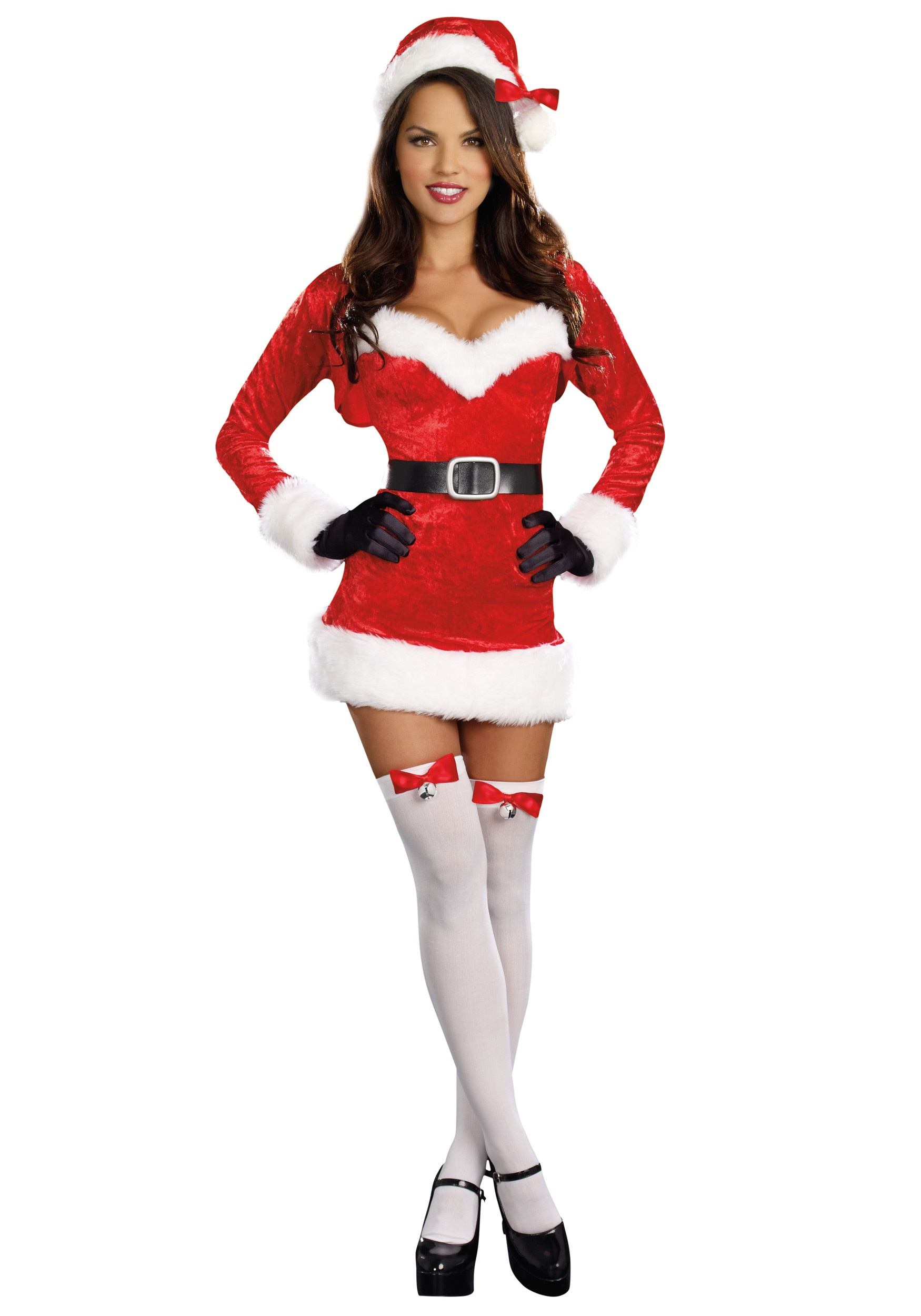 Brand New Christmas Mrs Santa Claus Adult Halloween Costume