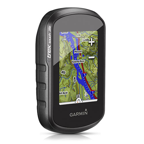 Refurbished Garmin eTrex Touch 35t Color Handheld with Preloaded TOPO Maps - Refurbished