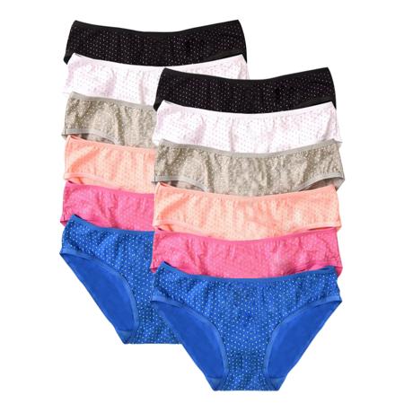 Underwear for Women Bikini Underwear 12 Pack Low Rise ...