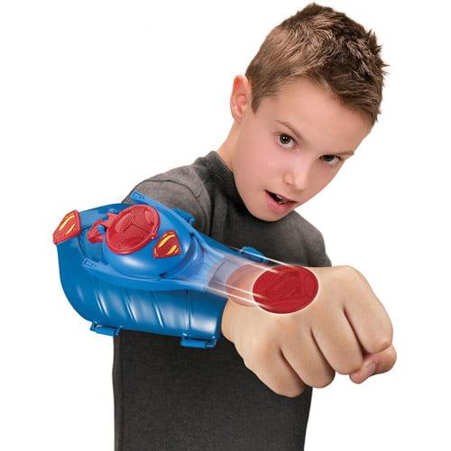 Superman Man of Steel Kryptonian Gauntlet with Disc Launcher