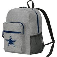 "NFL Dallas Cowboys ""Daybreak"" Backpack, 17"" x 7.5"" x 12.5"" - Heathered Grey"