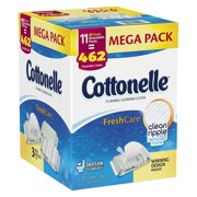 Cottonelle FreshCare Flushable Cleansing Cloths, 462 Ct ( 11 Packs of 42)