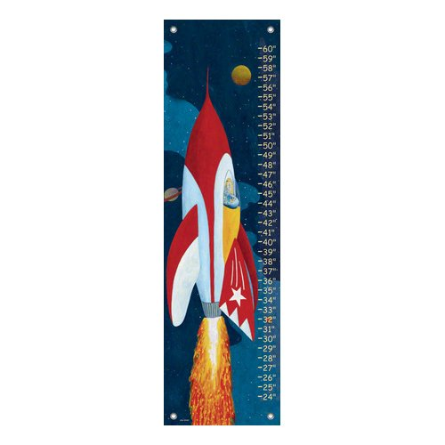 Oopsy Daisy Rocket Man Growth Chart
