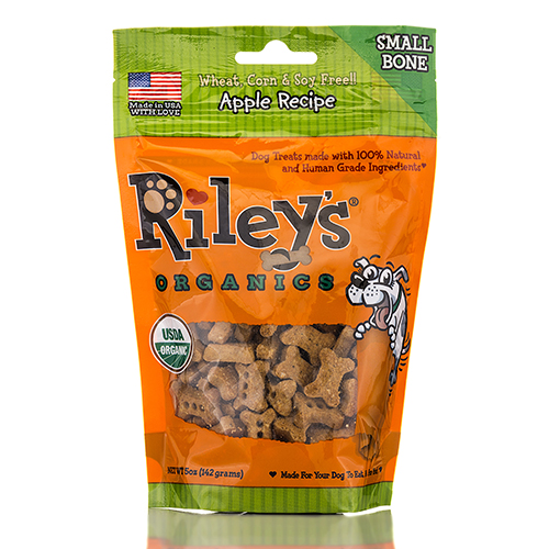 Apple Recipe Small Bone - 5 oz (142 Grams) by Riley's Organics