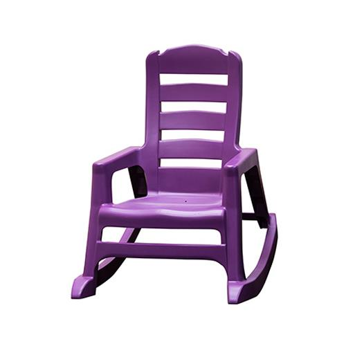 Adams Mfg 8480-12-3931 Kids' Lil' Easy Rocking Chair, Bright Violet by ADAMS MFG CO
