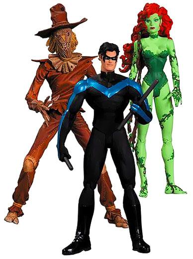Batman Hush Includes Nightwing, Scarecrow & Poison Ivy Action Figure 3-Pack by Diamond Comic Dist.