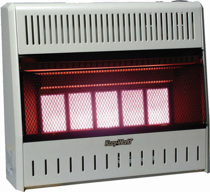 KWP522 5 Plaque Propane Wall Heater