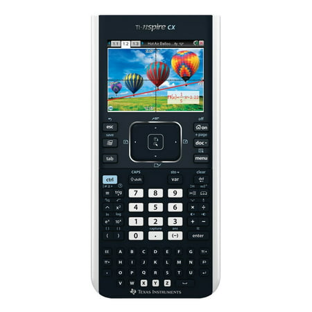 Texas Instruments TI-Nspire CX Graphing (Calc Ti Nspire Cx Cas & Adaptor)